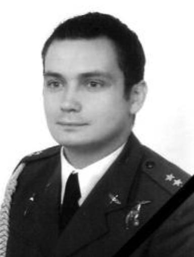 Lieutenant pilot Artur Karol Ziętek - navigator in the crew.