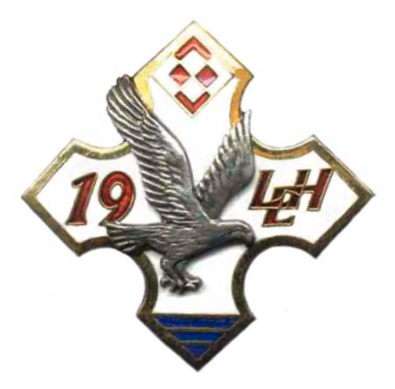Godło 19 Lotniczej Eskadry Holowniczej