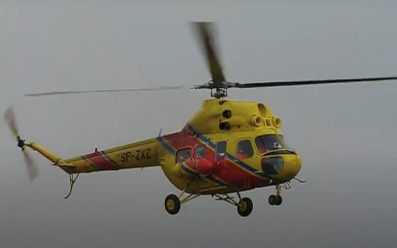 Mi-2 Ratownik SP-ZXZ. 2009 rok. Zdjęcie Karol Placha Hetman