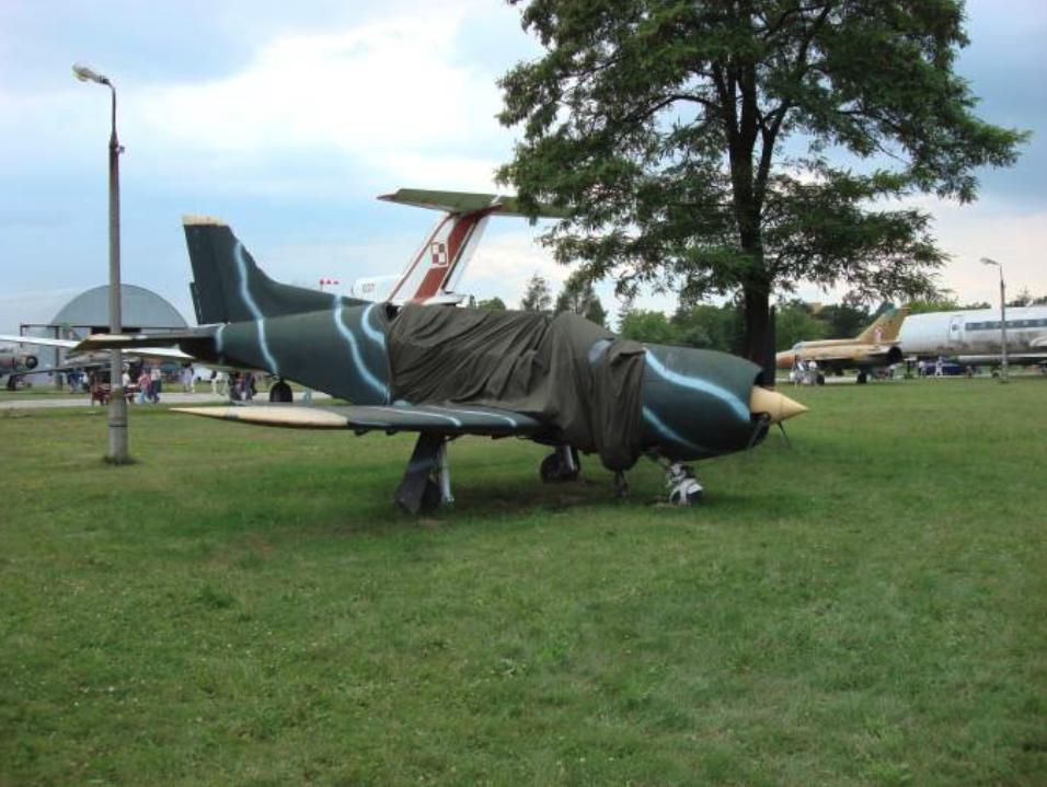 PZL-130 No. 003 in the museum in Czyżyny. 2007. Photo by Karol Placha Hetman