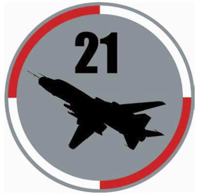 The emblem the 21st Air Base
