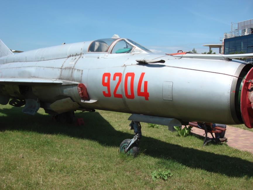 MiG-21 bis nb 9204. 2007 rok. Zdjęcie Karol Placha Hetman