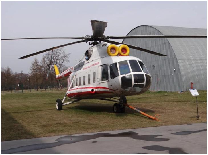 Mi-8 nb 620 Muzeum Lotnictwa Polskiego w Czyżynach 2012 rok. Zdjęcie Karol Placha Hetman