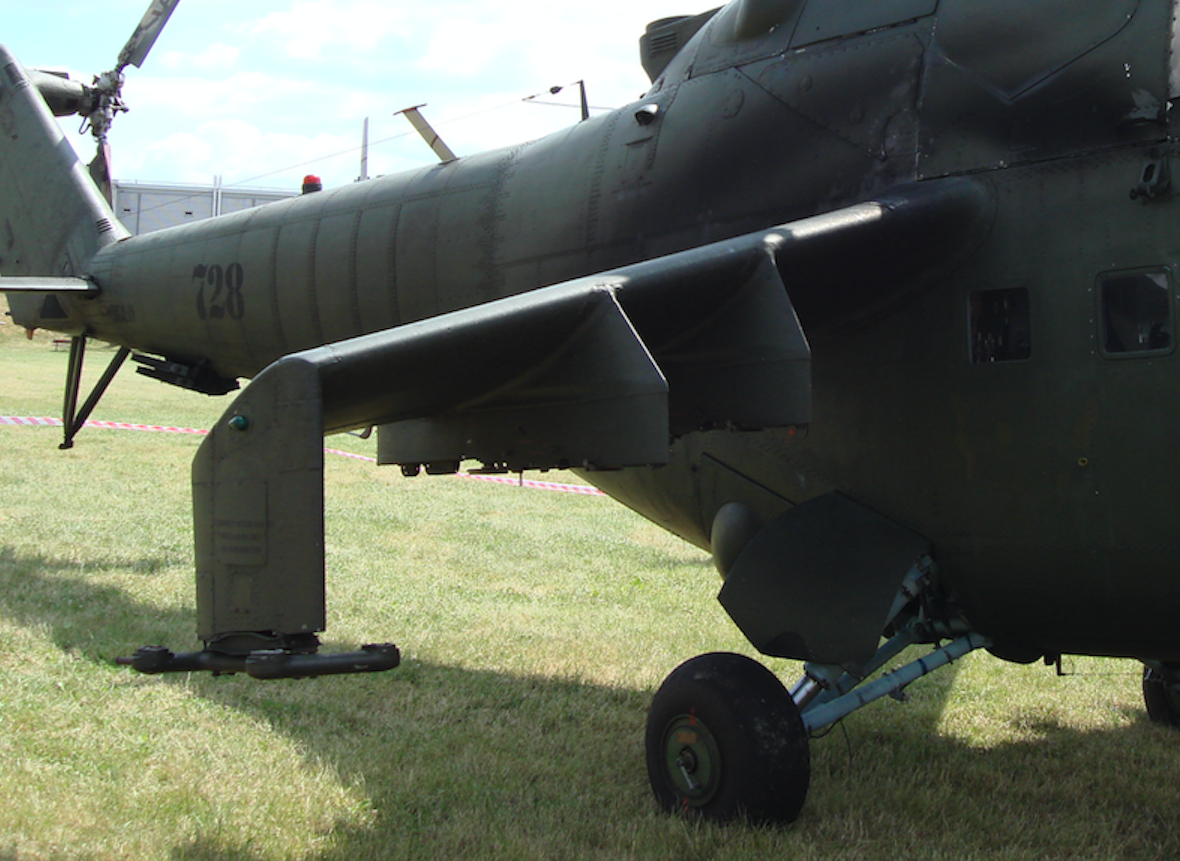 Mil Mi-24. Płat pomocniczy. 2008 rok. Zdjęcie Karol Placha Hetman