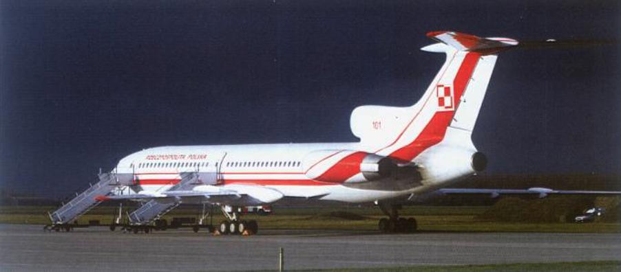 Styczeń 2010 rok. Tu-154 M nb 101 po powrocie z remontu na terenie Rosji. Zdjęcie Nasz Dziennik