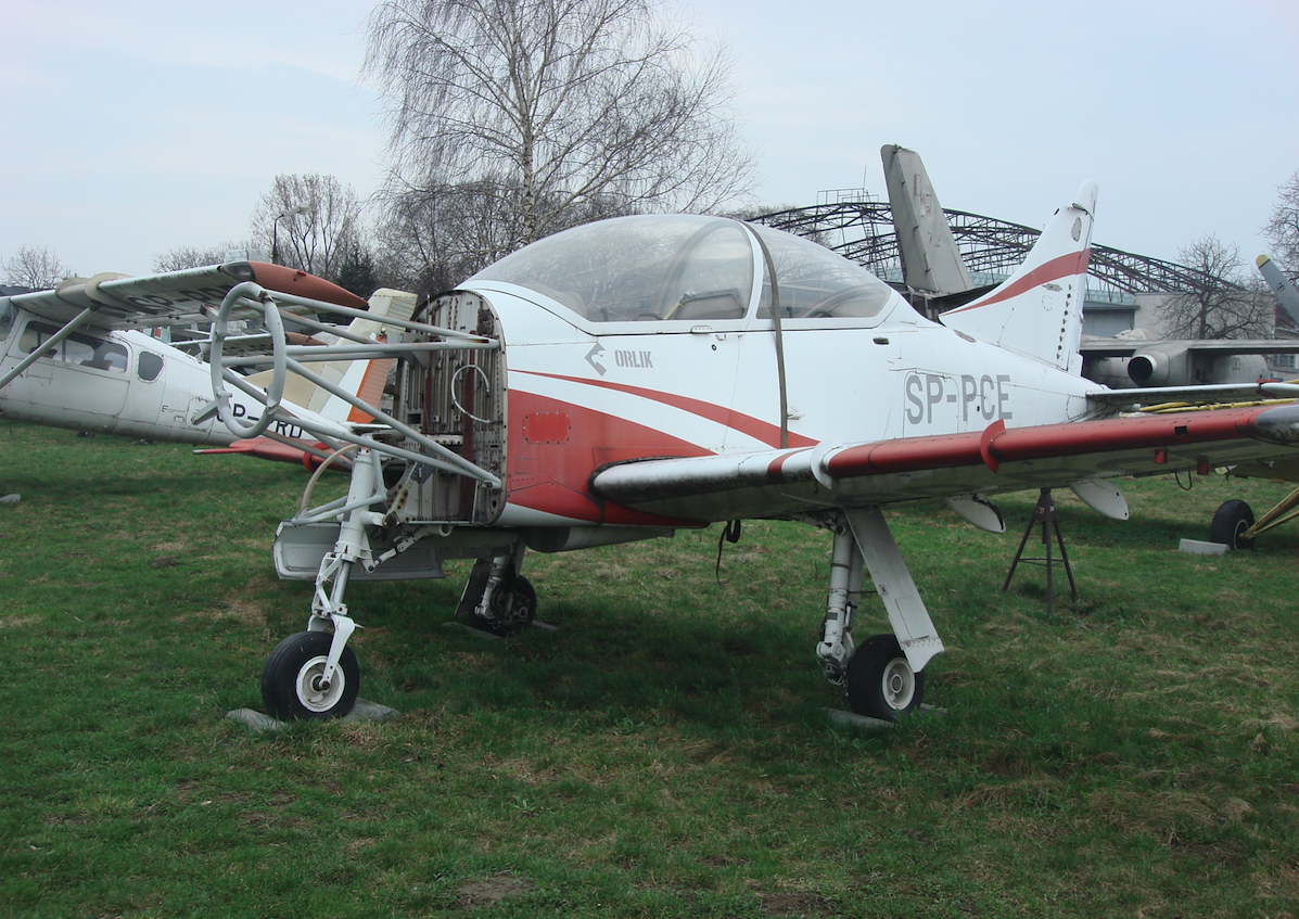 PZL-130 nb SP-PCE. 2011 rok. Zdjęcie Karol Placha Hetman