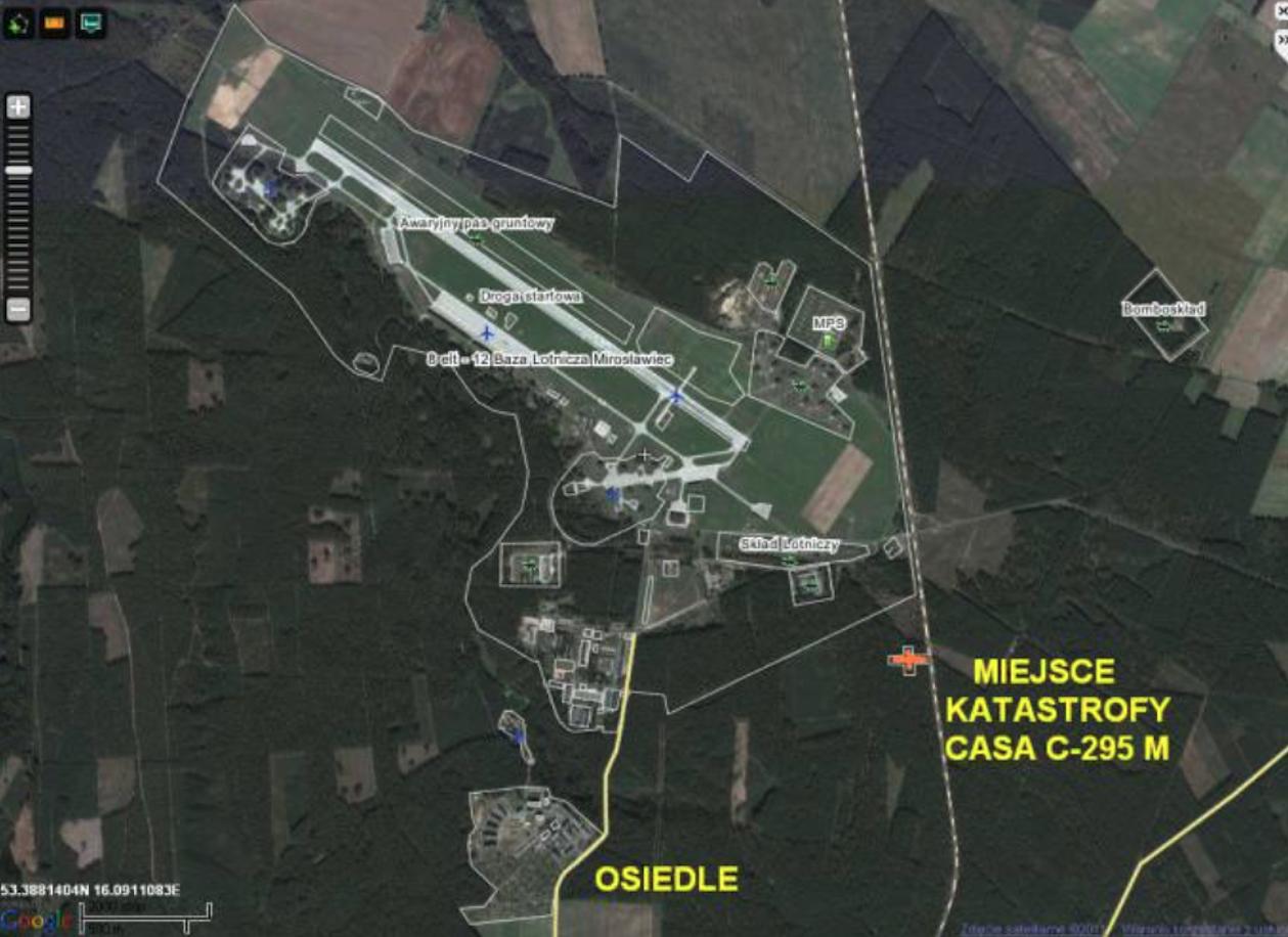 Lotnisko Mirosławiec. 2011 rok.