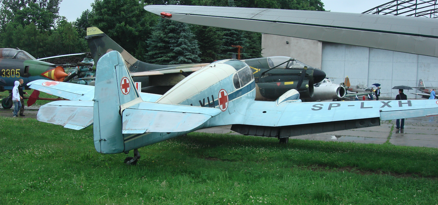 Aero Ae-45 SP-LXH. 2009. Photo by Karol Placha Hetman