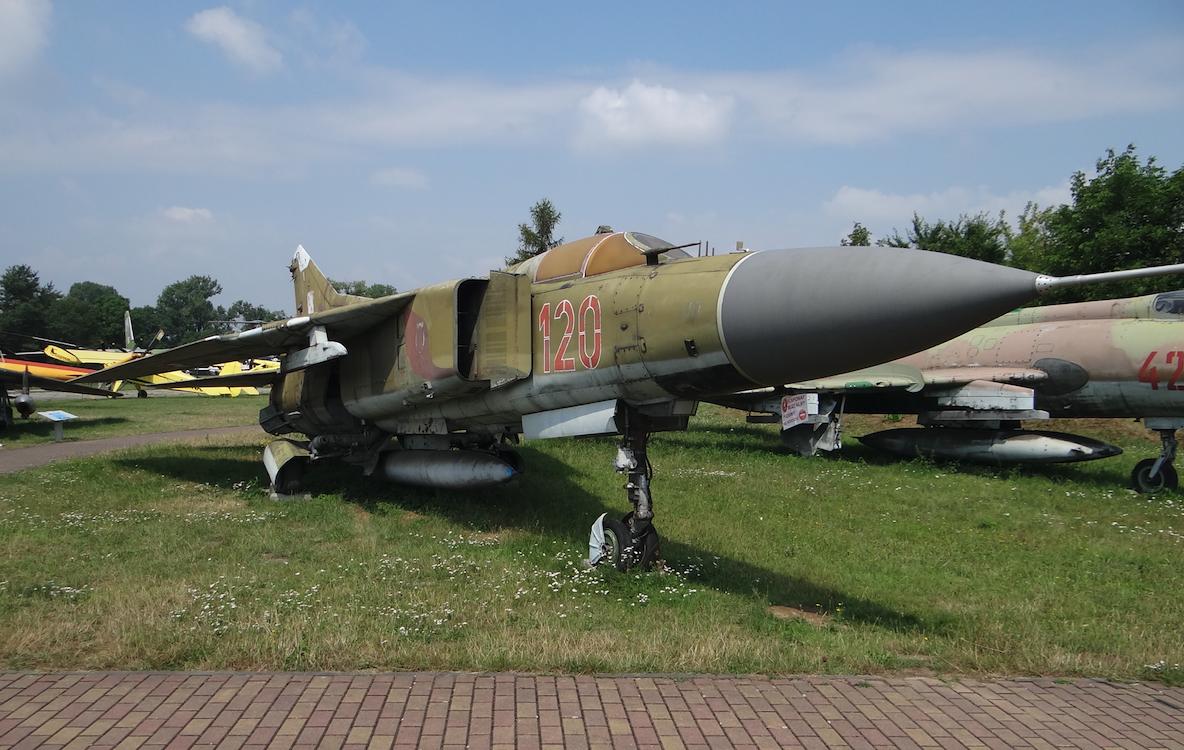 MiG-23 nb 120. 2017 year. Photo by Karol Placha Hetman