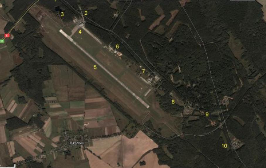 Lotnisko Goleniów. 2010 rok. Zdjęcie LAC