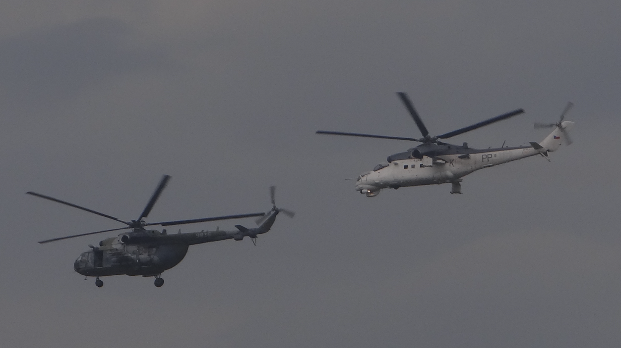 Mi-8 i Mi-24. 2016 rok. Zdjęcie Karol Placha Hetman