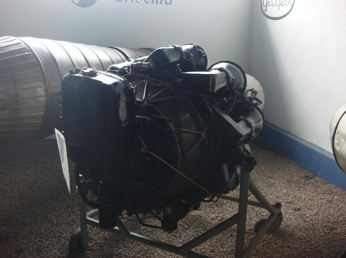 Silnik RD-500. 2011 rok. Zdjęcie Karol Placha Hetman