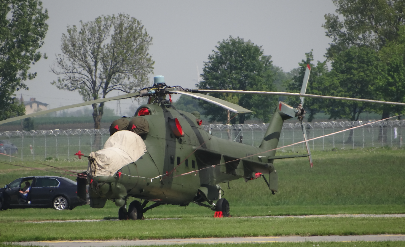 Mil Mi-24 nb 457. Inowrocław. 2019. Photo by Karol Placha Hetman