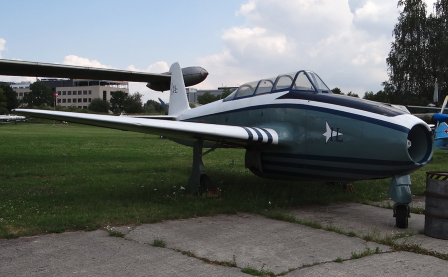 Jak-17 UTI used at the Institute of Aviation. Airplane after renovation. 2017 year. Photo by Karol Placha Hetman