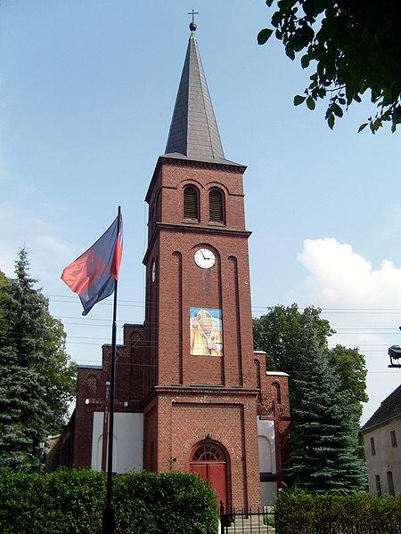 Kościół Rzymsko-Katolicki pod wezwaniem Niepokalanego Poczęcia NMP w Mirosławcu. 2008r.