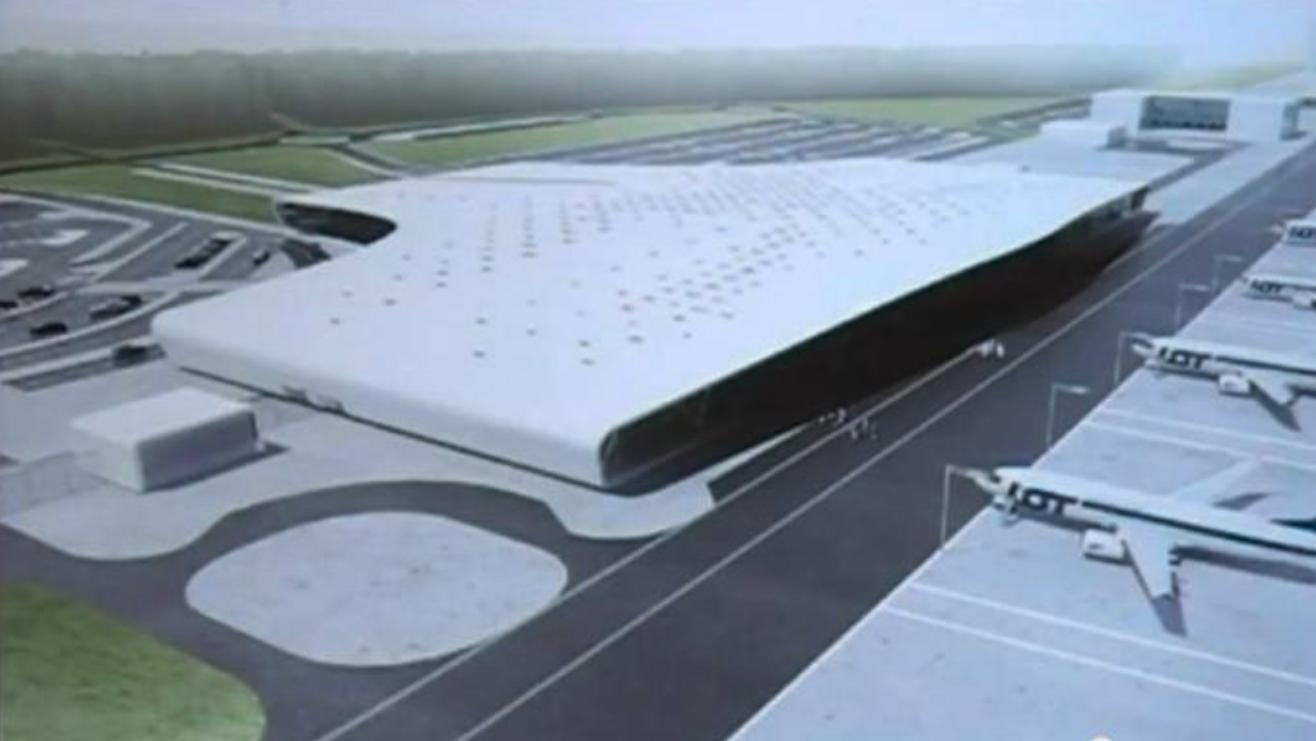 Projekt Lotniska Lublin-Świdnik. 2009 rok. Zdjęcie LAC