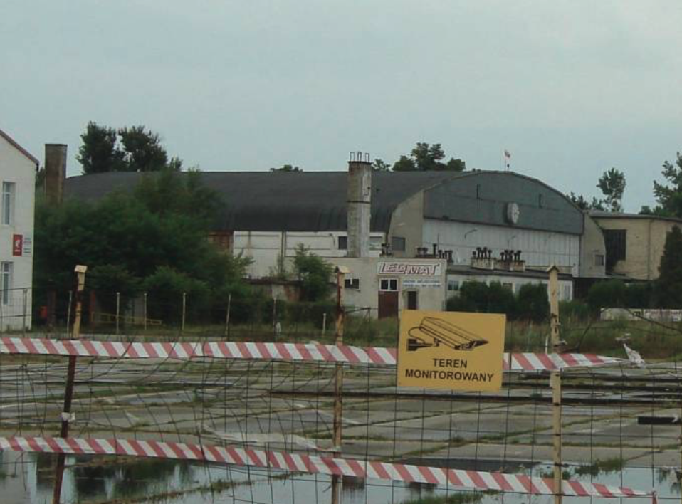 Hangar Nr 3. 2010 rok. Zdjęcie Karol Placha Hetman
