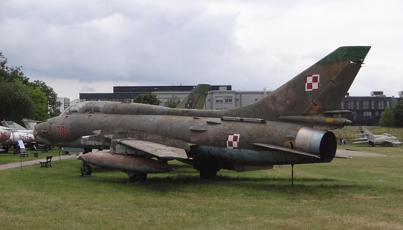 Su-22 UM 3 K nb 304. 2018 rok. Zdjęcie Karol Placha Hetman