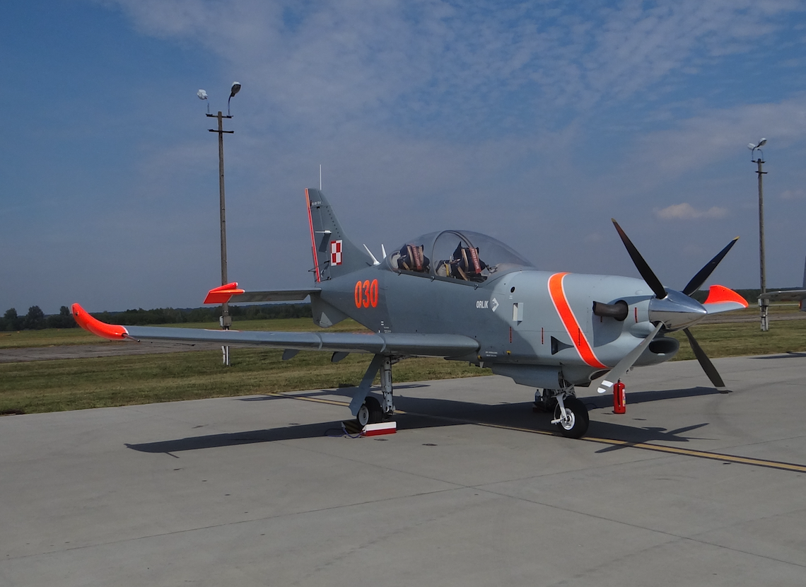 PZL-130 TC-II nb 030. Dęblin 2017. Photo by Karol Placha Hetman