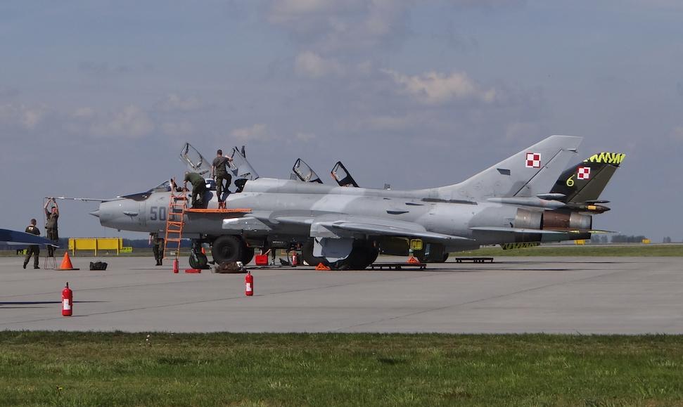 Suchoj Su-22 UM 3 K nb 509 po remoncie, w nowym kamuflażu. 2017 rok. Zdjęcie Karol Placha Hetman