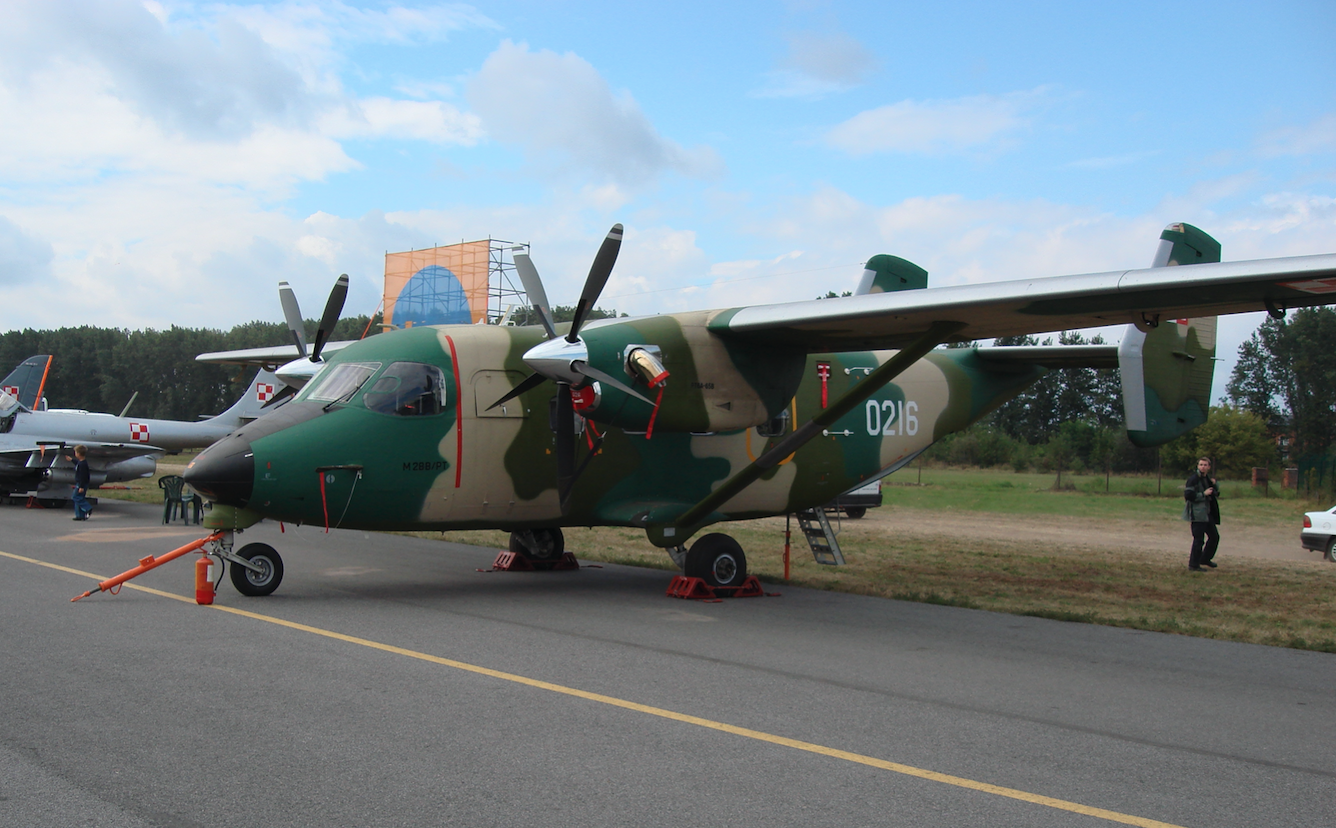 PZL M-28 B/PT nb 0216. 2007 rok. Zdjęcie Karol Placha Hetman