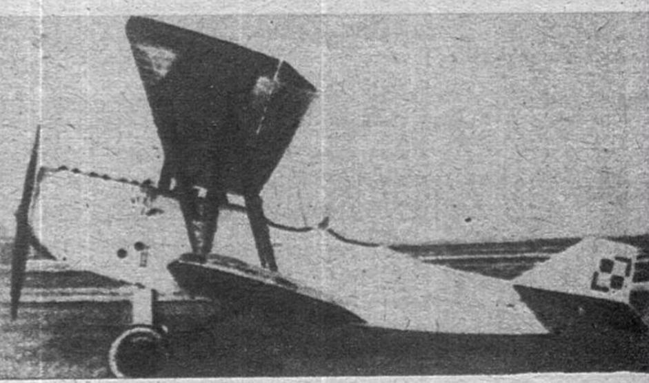 Samolot Bartel BM-5b na lotnisku Ławica. 1928 rok. Zdjęcie LAC