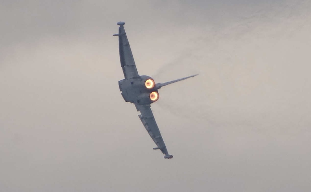 Eurofighter Typhoon. 2016 rok. Zdjęcie Karol Placha Hetman
