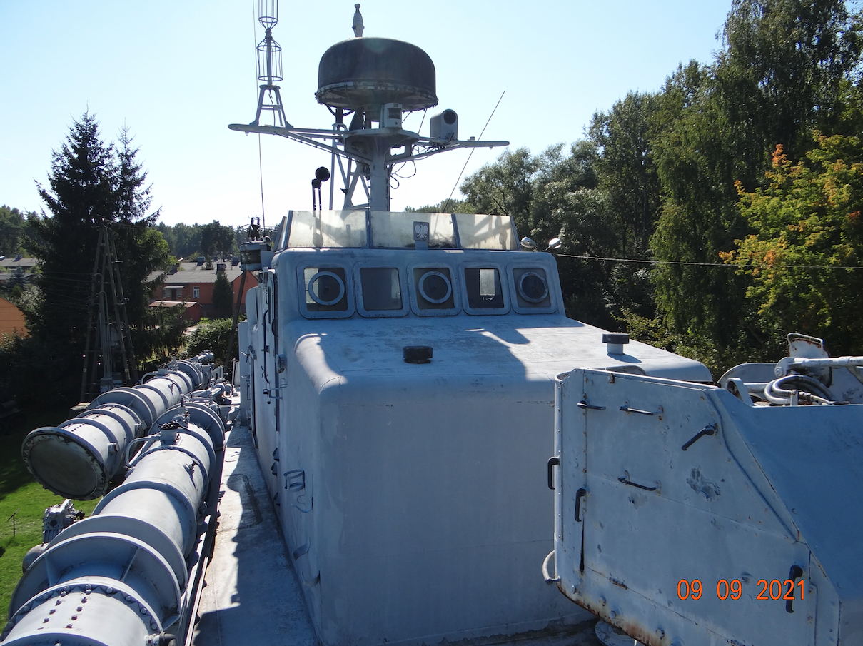"""The torpedo boat ORP """"Courageous"""". 2021. Photo by Karol Placha Hetman"""