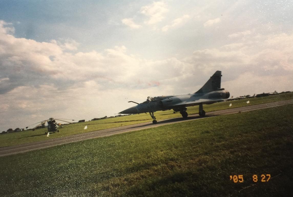 Mirage 2000. Francja. 2005 rok.Zdjęcie Karol Placha Hetman
