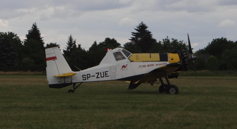 PZL M-18 B Dromader SP-ZUE. 2018 rok. Zdjęcie Karol Placha Hetman