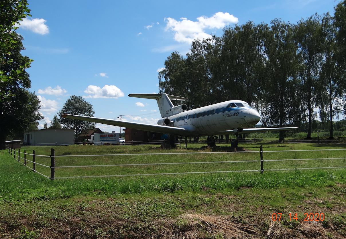 Jakowlew Jak-40 nb 032. 2020 rok. Zdjęcie Karol Placha Hetman