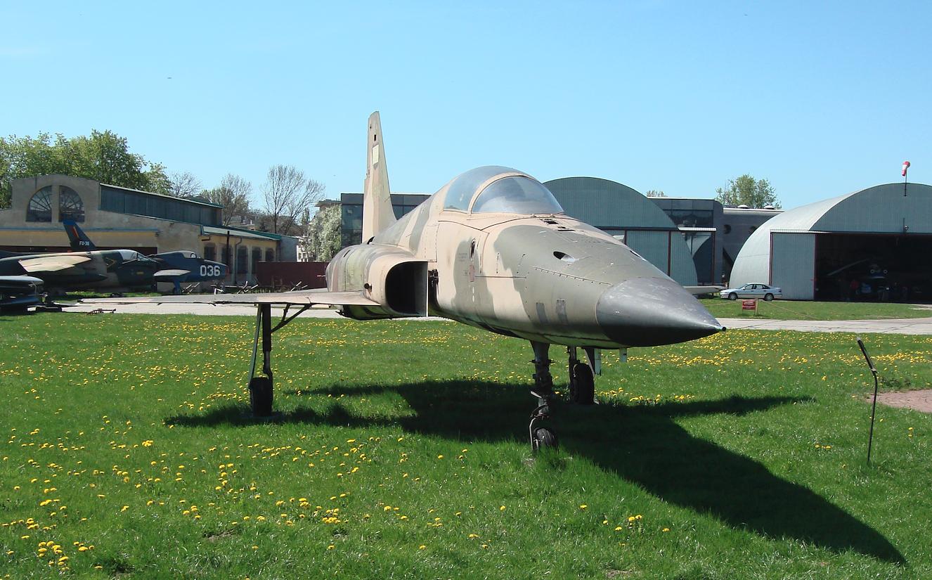F-5 E nr 73-00852. Rok 2010. Zdjęcie Karol Placha Hetman