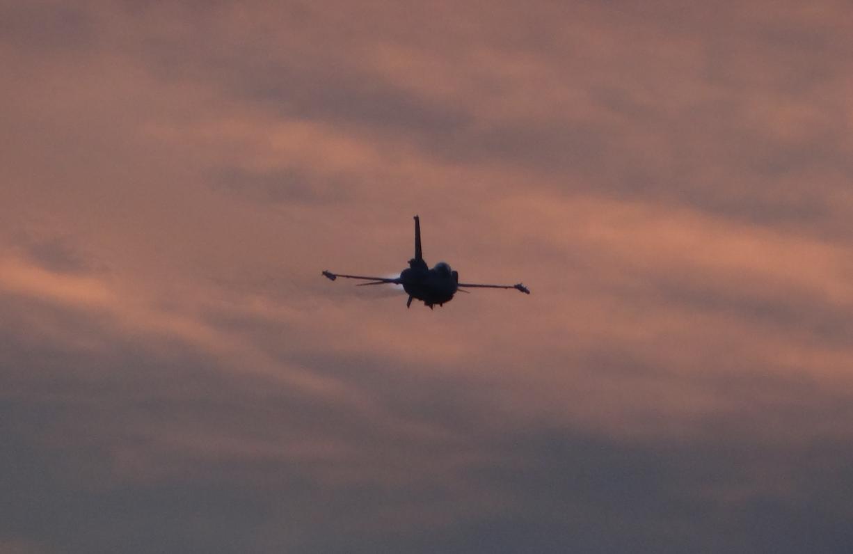 Lockheed Martin F-16 Hawk. 2021. Photo by Karol Placha Hetman