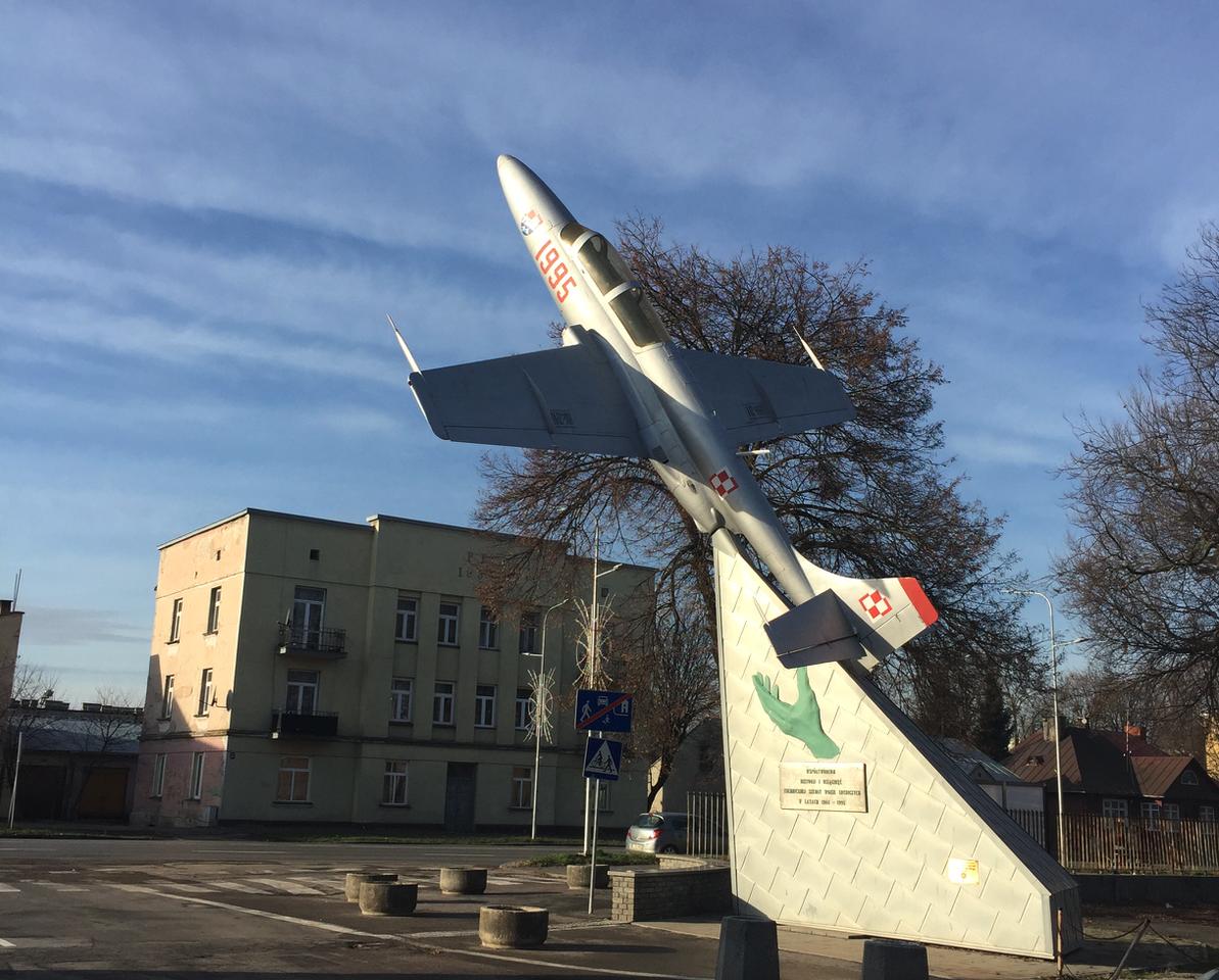Zamość. Airplane TS-11 nb 1995. 2019. Photo by Karol Placha Hetman