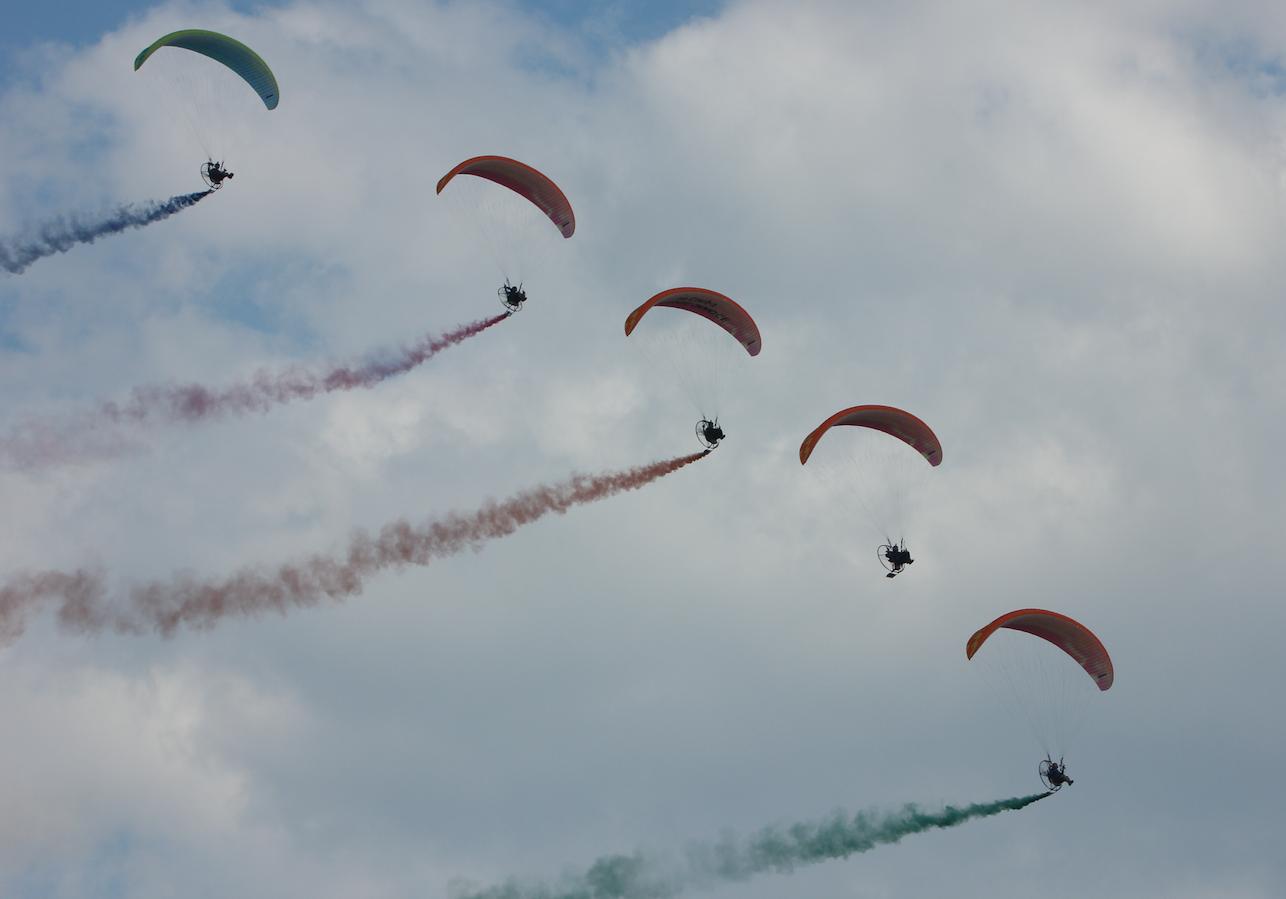 Flying Dragons Team. Babie Doły 2019 rok. Zdjęcie Waldemar Kiebzak