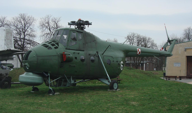Mil Mi-4 ME. Czyżyny 2008 rok. Zdjęcie Karol Placha Hetman