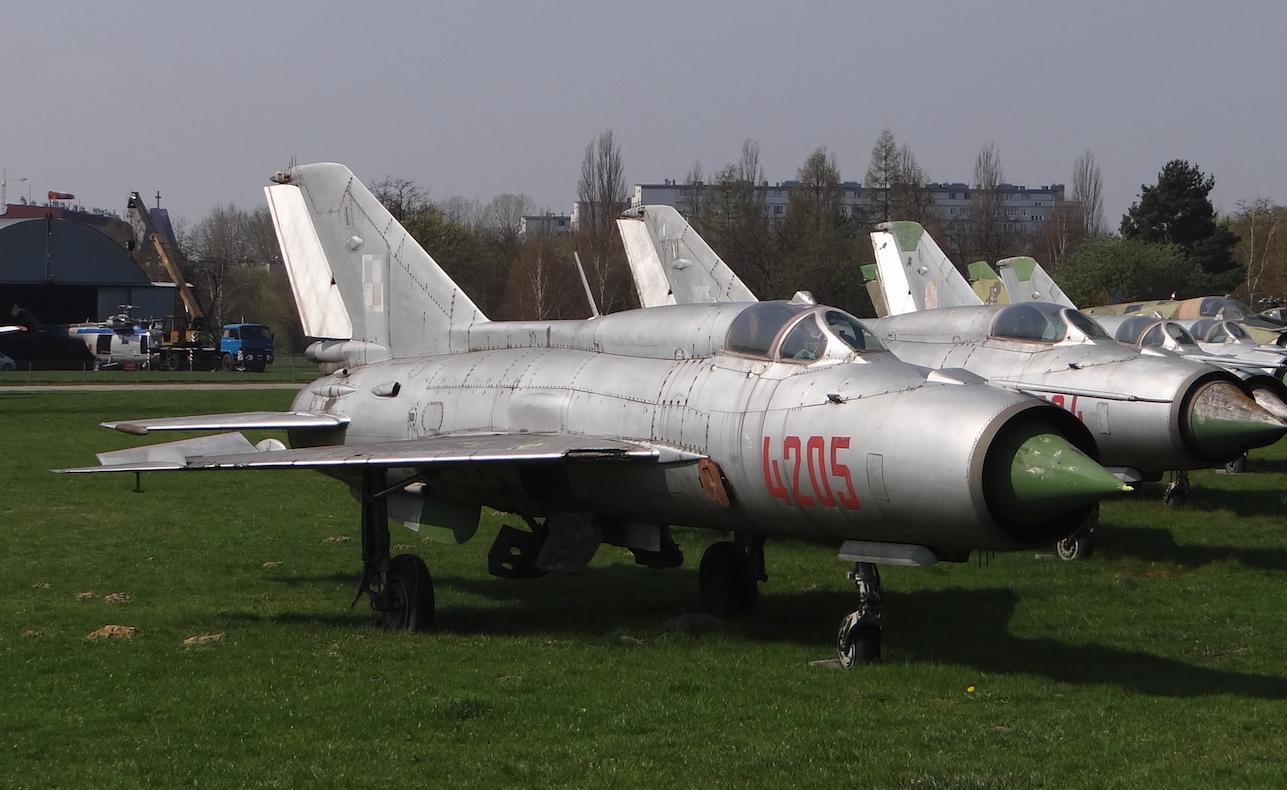 MiG-21 PFM nb 4205. Czyżyny 2019 rok. Zdjęcie Karol Placha Hetman