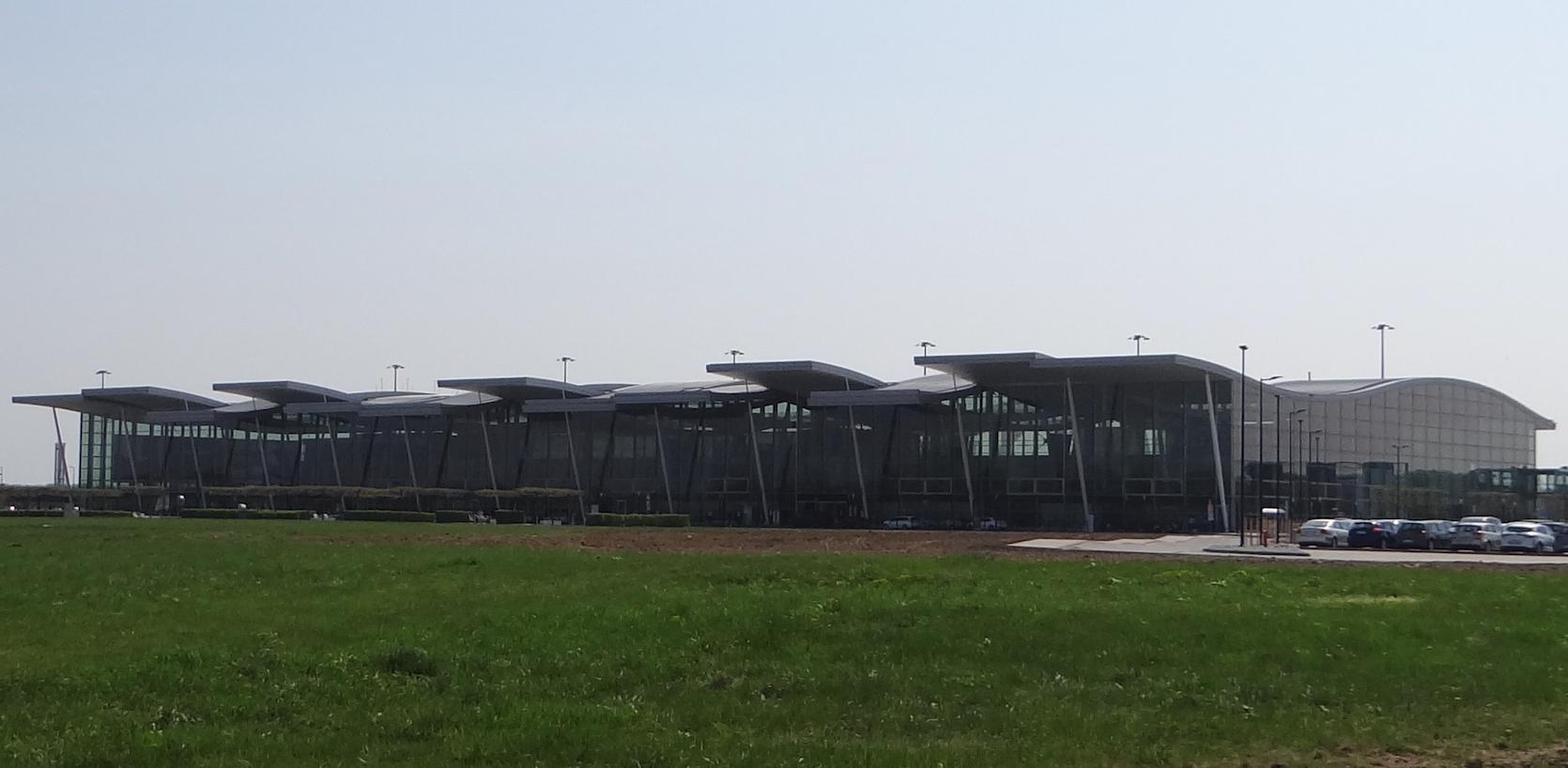 Terminal we Wrocławiu. 2018 rok Zdjęcie Karol Placha Hetman