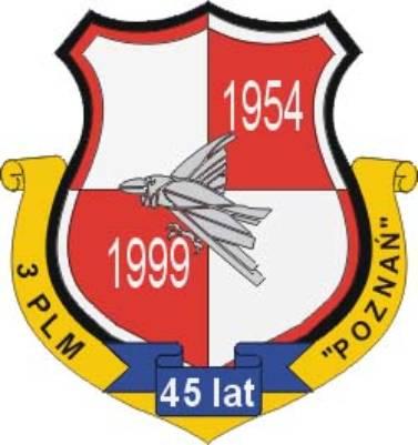 Okolicznościowa odznaka 3 PLM. 1999r.