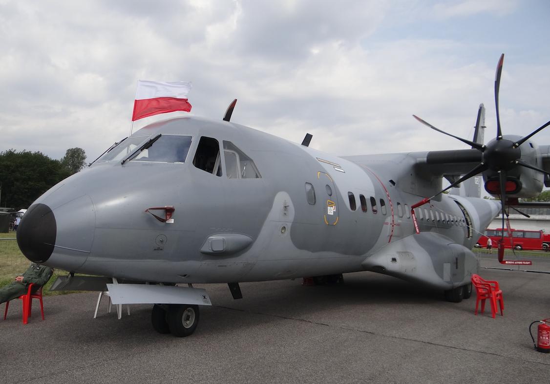 CASA C-295 M nb 025. Radom 2017 rok. Zdjęcie Karol Placha Hetman