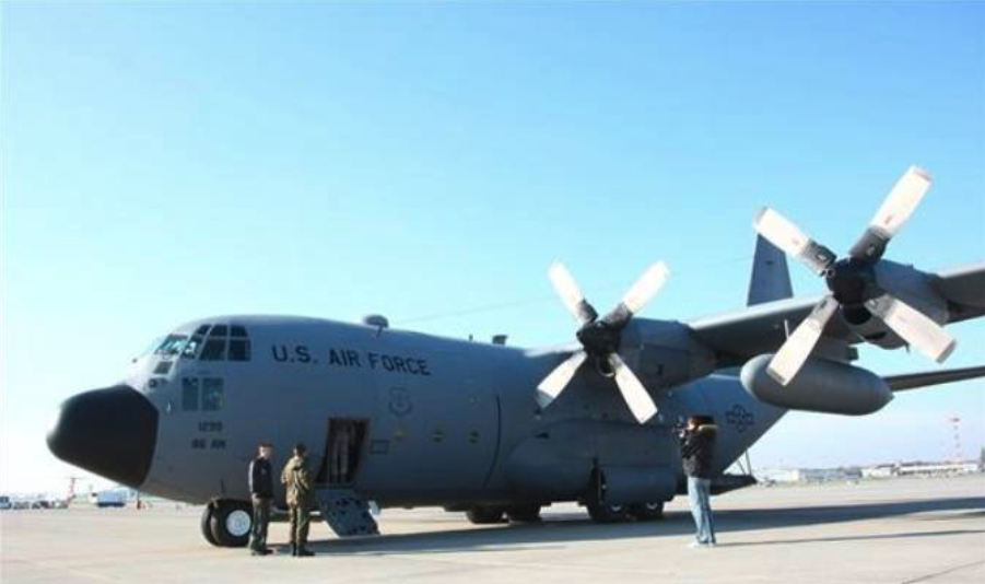 Lockheed C-130 nb RS 1299, which became the Polish C-130 nb 1506. Okęcie October 2009. Photo by PSP