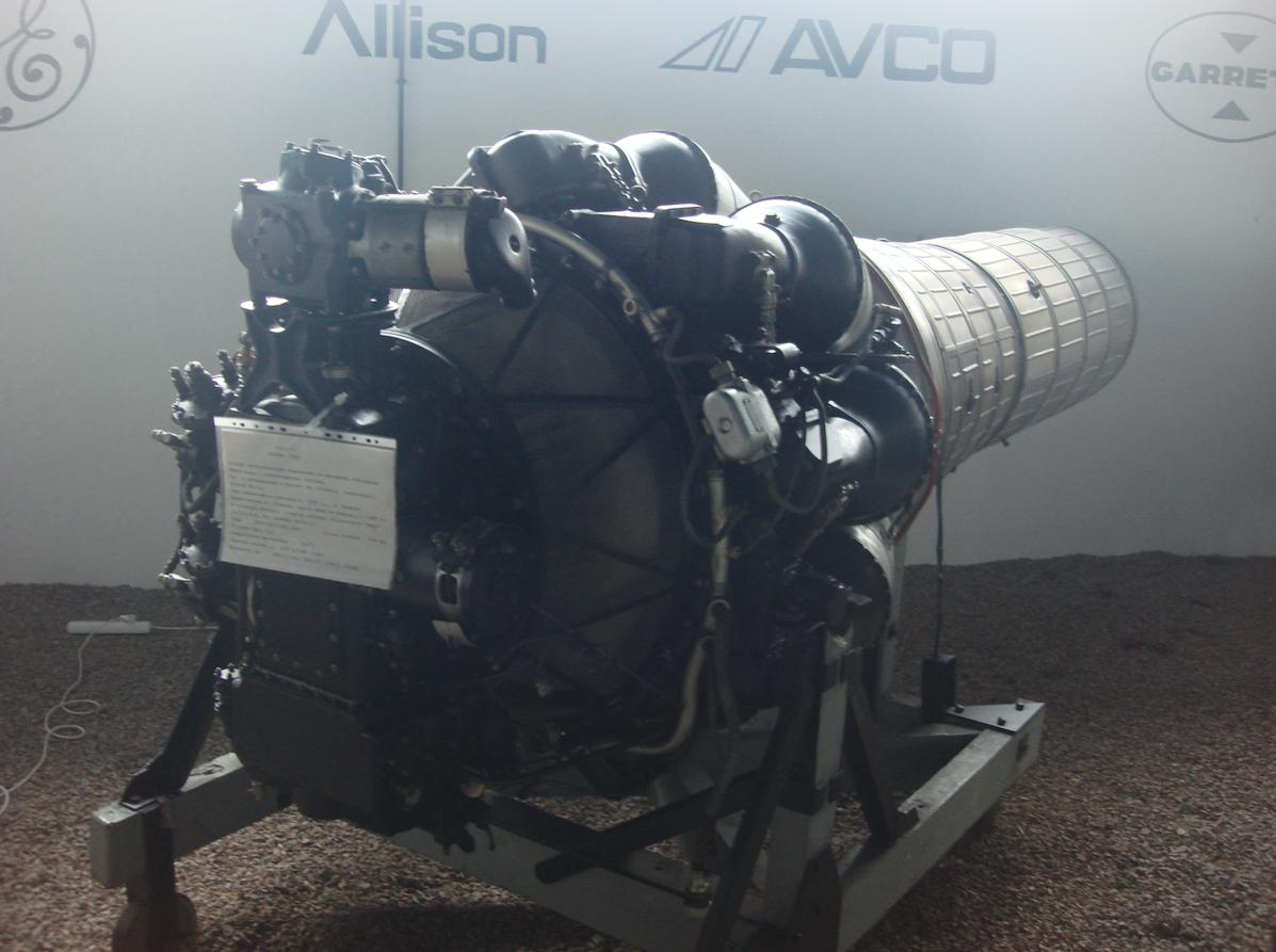 Lis-2 engine. 2011 year. Photo by Karol Placha Hetman