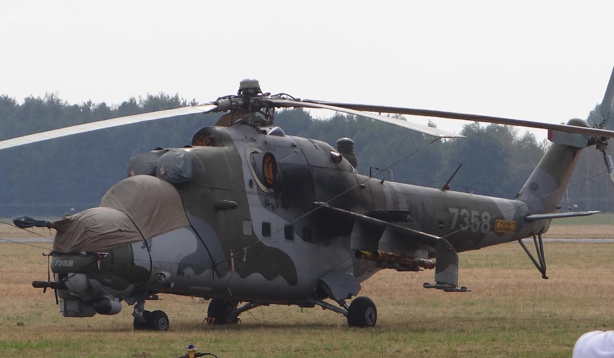 Czechy Mil Mi-24 Nb 7358. 2015 rok. Zdjęcie Karol Placha Hetman