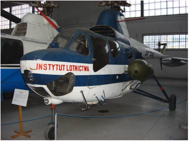 SM-1 rejestracja SP-SAD w Muzeum Lotnictwa Polskiego w Czyżynach 2008 rok. Zdjęcie Karol Placha Hetman
