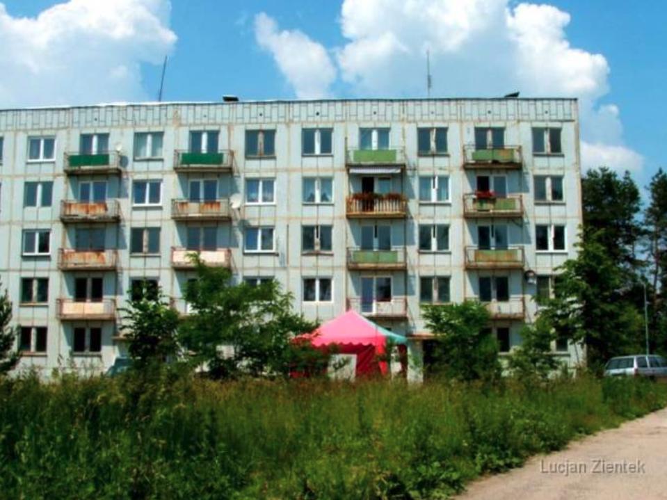Blok mieszkalny typu Leningrad. 2007 rok. www.fortyfikacje.legnica