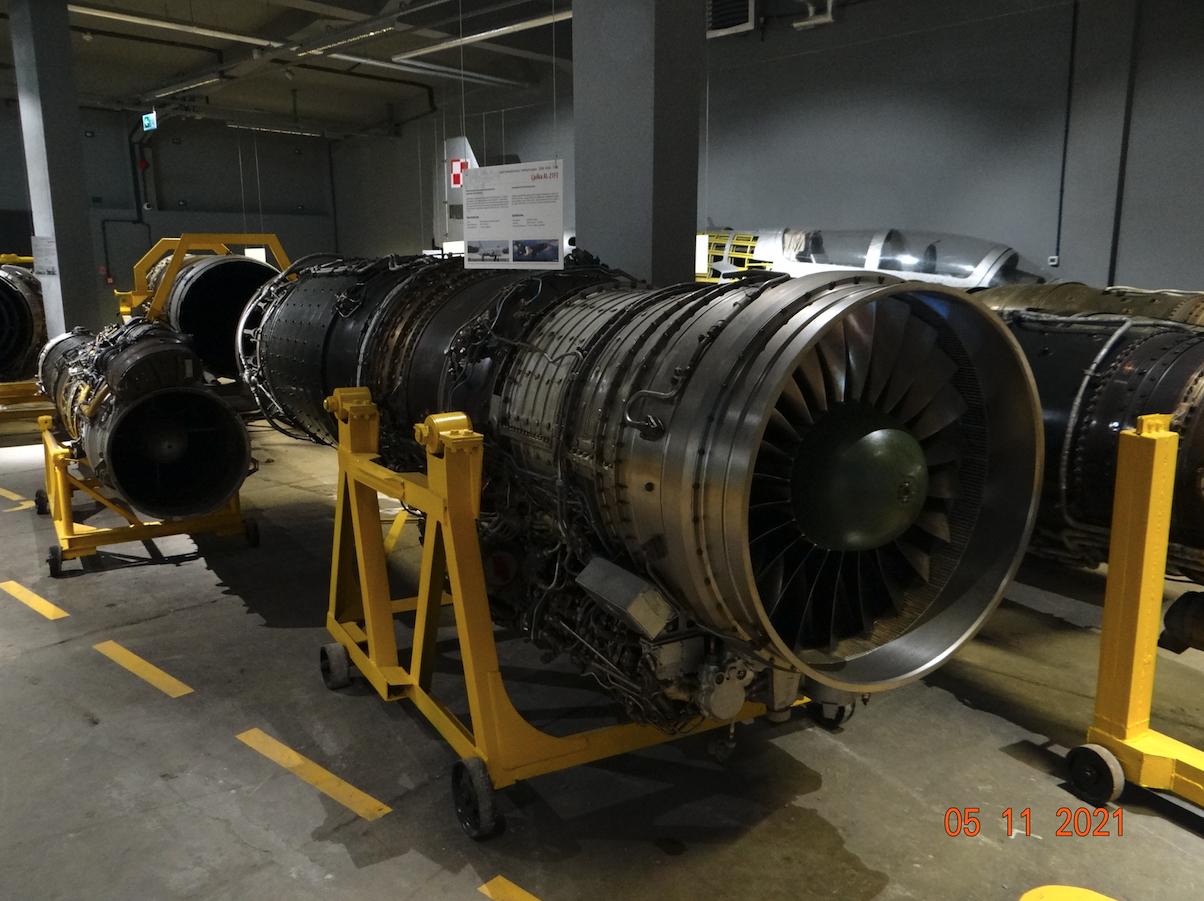Aircraft engines. 2021 year. Photo by Karol Placha Hetman