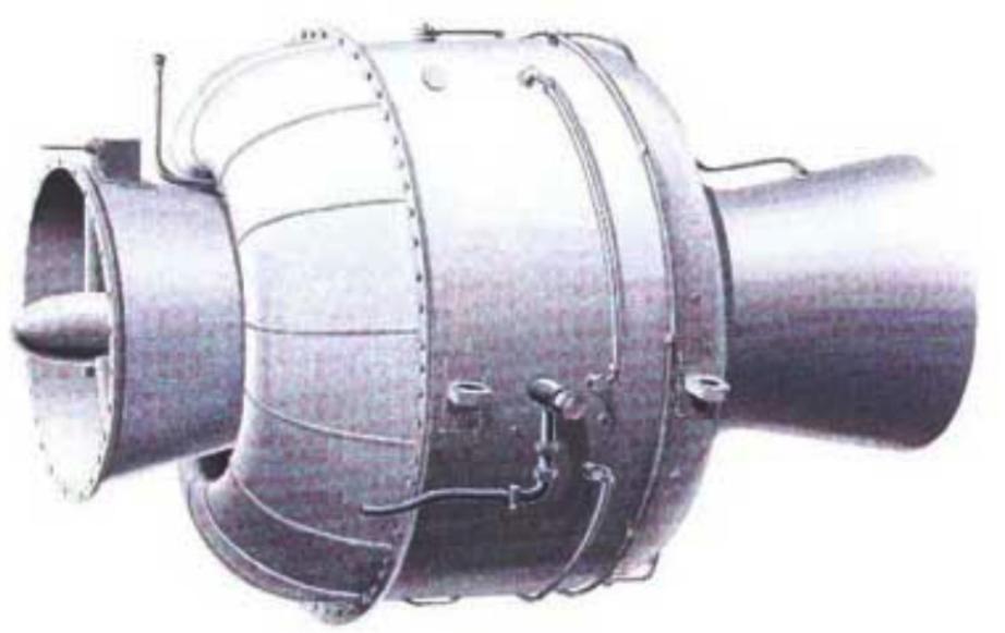 HeS Heinkel Jet Engine 1. Zdjęcie LAC