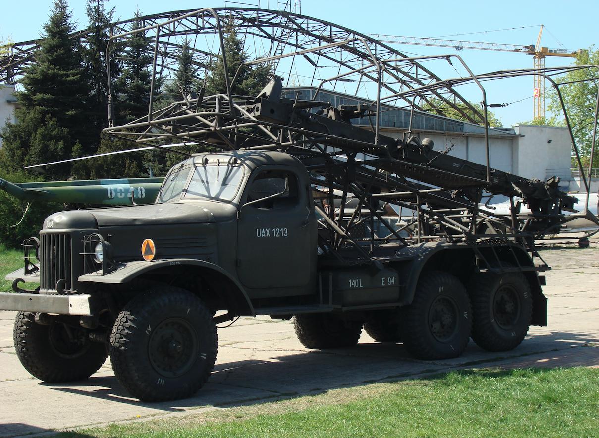 System S-125 Newa, samochód transportowy Ził-151. 2013 rok. Zdjęcie Karol Placha Hetman