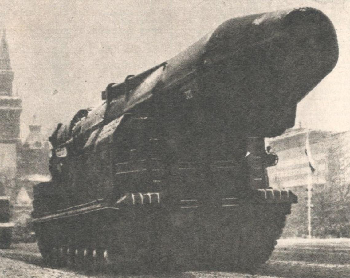 Rakieta SS-20. Moskwa 1984 rok. Zdjęcie LAC