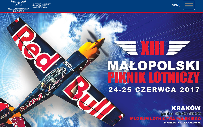 XIII Małopolski Piknik Lotniczy.